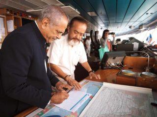 東ティモール元大統領ラモス・ホルタ氏が乗船!独立への苦難の道と和解