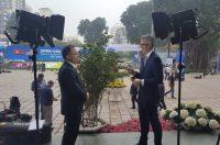 米朝会談に合わせてハノイで朝鮮半島の平和と非核化を訴えました