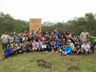 第99回ピースボートで「ガラパゴスの森再生プロジェクト」植林ツアーを実施しました