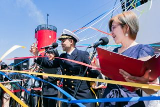 気候変動を洋上で考える、ピースボート101回目の航海が出航しました!