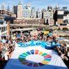 「世界海洋デー」に、ニューヨーク停泊中のピースボート船上にて国連公式イベントを開催しました!