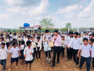 カンボジアで地雷問題の「今」を学びました