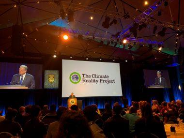 アル・ゴア氏の主催する気候変動リーダーシップトレーニングに参加しました