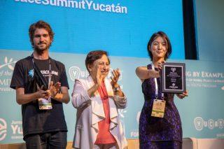 ピースジャム財団のビリオン・アクト・アワードを受賞、ノーベル平和サミットに参加しました