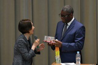 2018年ノーベル平和賞受賞者デニ・ムクウェゲ医師の広島訪問をサポートしました