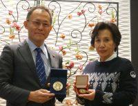 サーロー節子さんの来日にあたり核廃絶への行動を訴えました