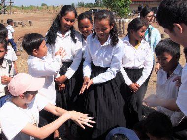 第102回ピースボートで「カンボジア手洗いプロジェクト」を実施しました