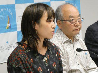 元おりづるユース鈴木慧南さんの活動が、共同通信の記事になりました