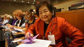 ヒロシマ・ナガサキ75年~核の非人道性を伝え、すべての国に核兵器禁止条約に加わるよう求めます