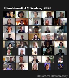 被爆75年、未来のグローバルリーダーを目指して世界の若者が学びました~広島−ICANアカデミー2020