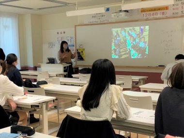東京の高校で「なんだろう地雷出前教室」を開催しました