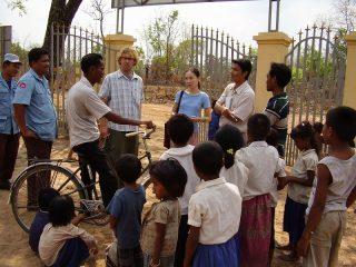 「知りたい」から「なくしたい」へ・森田幸子と「カンボジアから地雷をなくそう100円キャンペーン」(Vol.1)