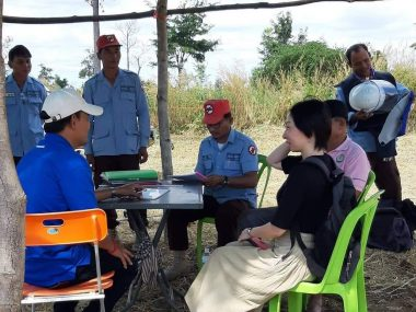 カンボジアの人々との交流・森田幸子と「カンボジアから地雷をなくそう100円キャンペーン」(Vol.2)
